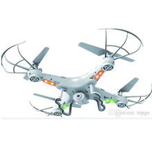X5C RC Drone Helicopter Quadcopter 0.3M Camera 360-Eversion 2.4G Remote Control 4 CH 6 Axis Gyro Dron Led Light Flying Plane Toy