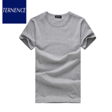 2015 Jane Male New Summer Of Men s T shirt Solid Color Loose Short Sleeve T