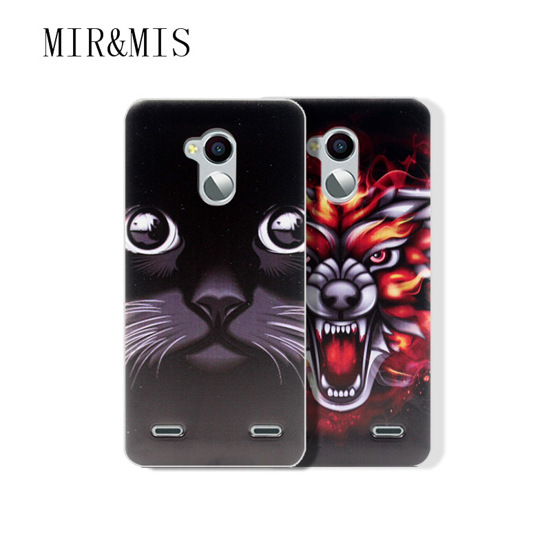 Fundas cartoon Soft TPU capa ZTE blade V7 LITE cover Case Blade 5.0 INCH colorful printing plastic coque  -  Boy-Technology Co., Ltd store