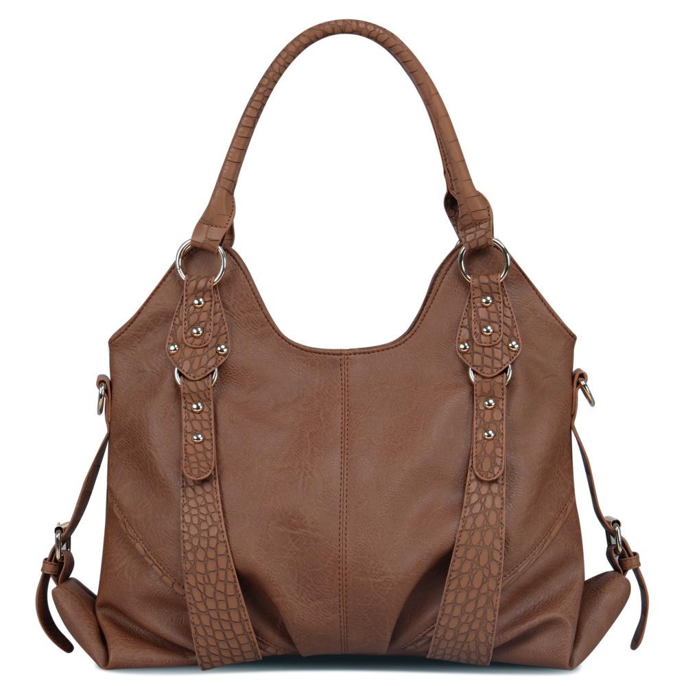 2016 VN Brand Fashion Women Leather Handbags Bolsos Ladies Tote Handbag Vintage Women Messenger Bag Female Shoulder Hand Bag(China (Mainland))
