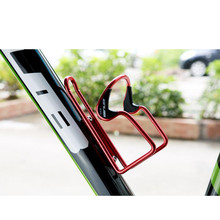 Buy 3 Colors Aluminum Bicycle Bike Water Bottle Cage High Cycling Drink Water Bottle Rack Holder Bike Accessories for $3.45 in AliExpress store