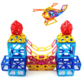 Magnetic Blocks Educational Toys For Children 118pcs Mini Magnetic Designer Construction Models Building Toys Christmas Gift