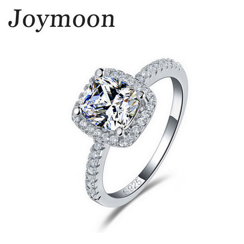 Real 925 Sterling Silver Sapphire Ring Pink Wedding Engagement Zirconia Finger anel CZ Diamond for Women Jewelry Pure 100% T0820(China (Mainland))