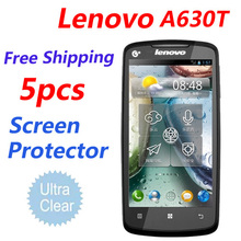 5 pcs Free Shipping 3G Smartphone lenovo a630 Screen Protector,Ultra-Clear LCD Protective Film.lenovo a630 a630t a630e