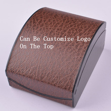 Wholesale Upscale Leopard Watch Box PU And Plastic Gift Box Velvet High grade Boxes Size 10