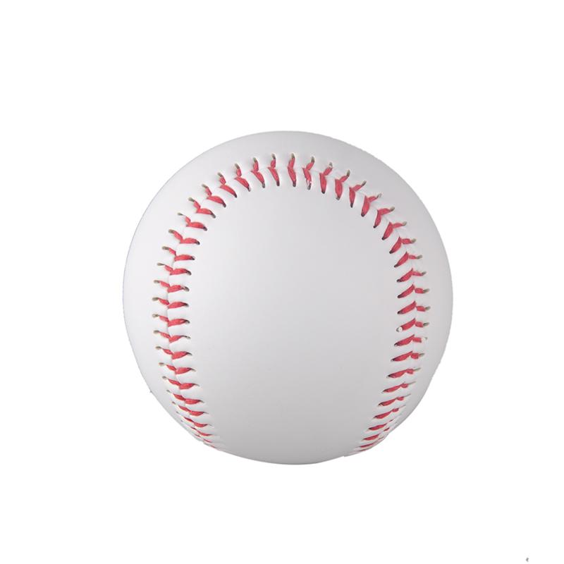 "hot selling 1 Piece 9"" New White Base Ball Baseball Practice Trainning PVC Softball/Hardball hand sewing Sport Team Game(China (Mainland))"