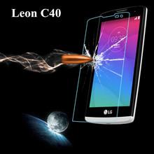 Для LG леон H340 леон 4 г LTE H340N C40 закаленное стекло экран протектор премиум передняя ясно защитная крышка фильм
