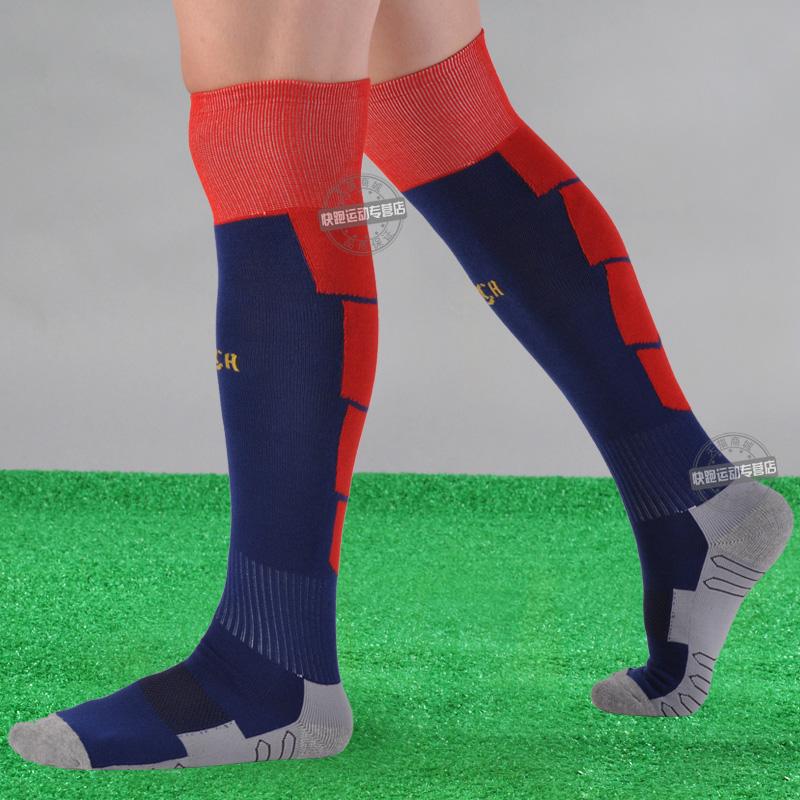Гаджет  2014 football socks over-the-knee barreled ball socks thickening towel male player version None Спорт и развлечения