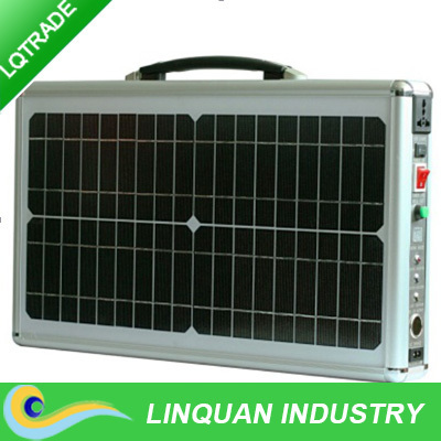 2015 new model 20W portable solar power system for home use solar charging energy system