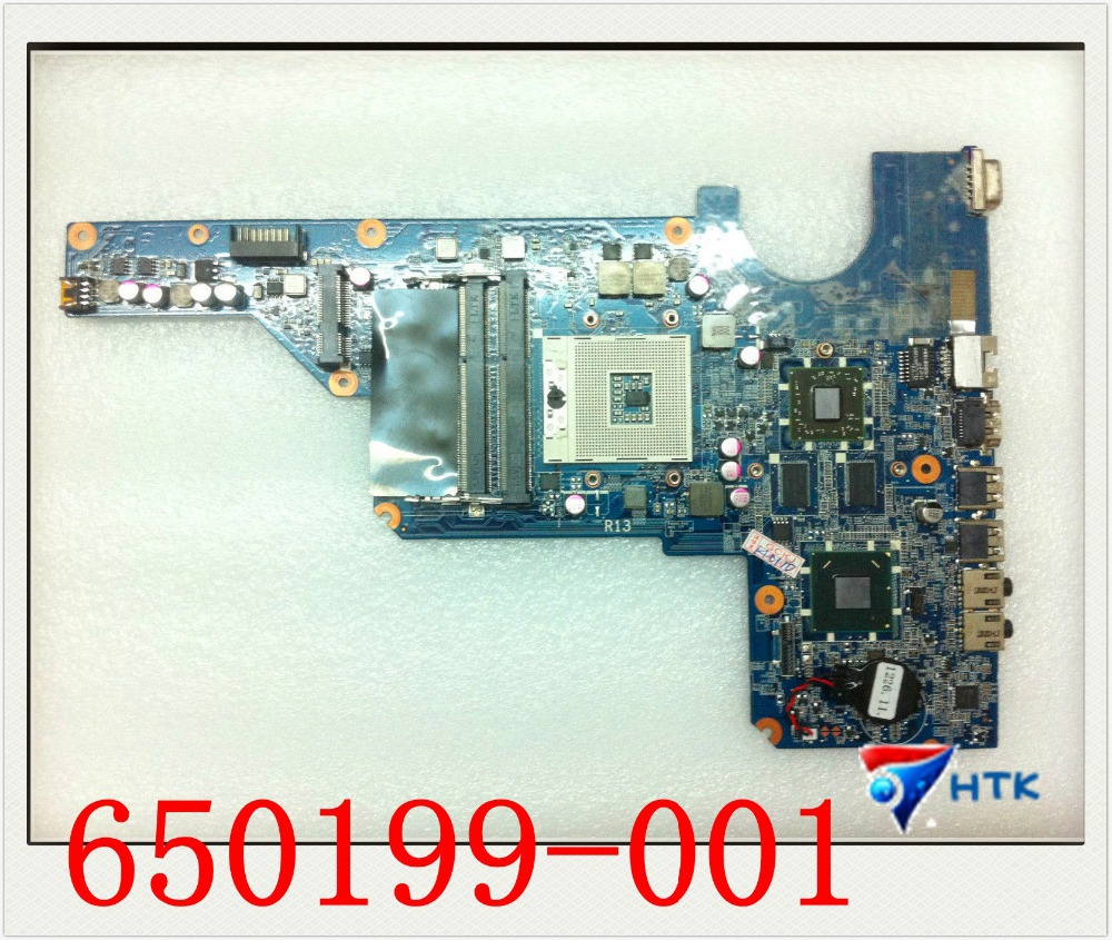 Wholesale 650199-001 For HP pavilion G4 G6 G7 HM65 motherboard 100% Work Perfect<br><br>Aliexpress