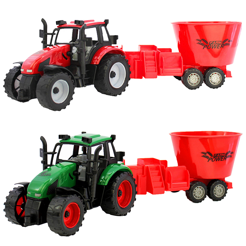 Happy Cherry Kids Children Farmer Loading Truck Toys Set Gifts for Baby Boys Girls Model Cars Toy(China (Mainland))