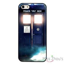 Doctor Who Tardis Police Box Protector back skins mobile cellphone cases for iphone 4/4s 5/5s 5c SE 6/6s plus ipod touch 4/5/6