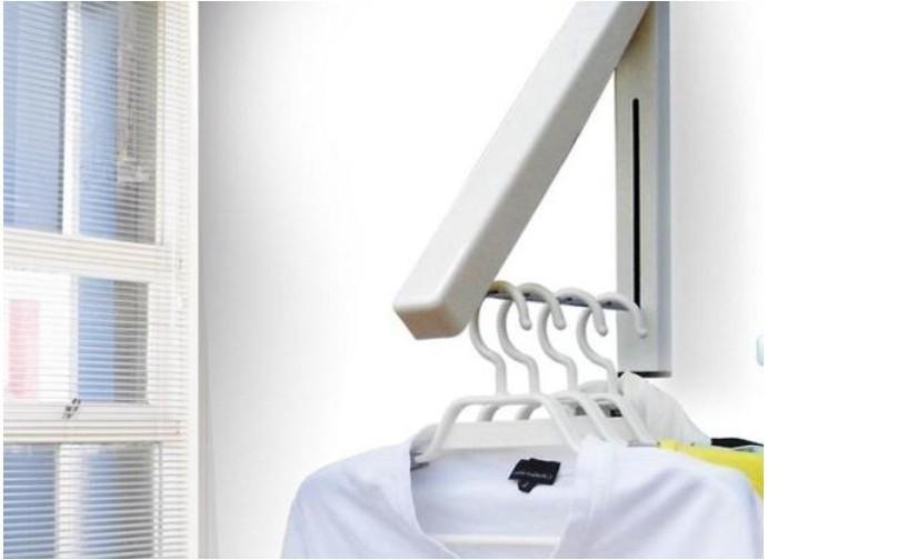 Gratis verzending kledingrek mini muur badkamer balkon kleine modellen ...