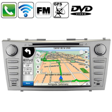 7″ HD Gesture Control Touch Screen In Dash Car DVD Player With GPS Stereo Bluetooth Radio for Ipod Subwoofer Output