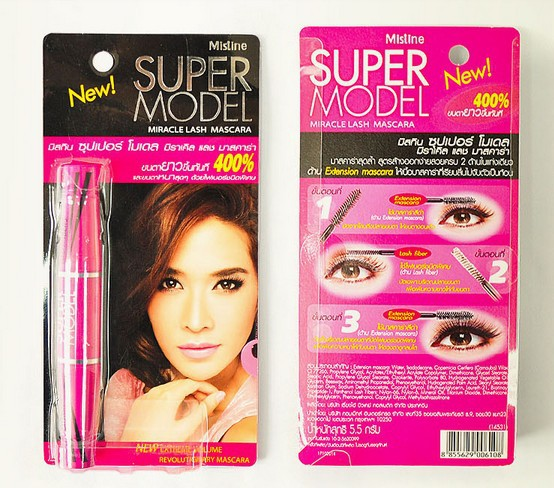 2015 Real Hot Sale Full Size Maquiagem Makyaj Spot Authentic Thailand Mistine Mascara Makeup 4d Lash Thick Beauty Of Poetry(China (Mainland))