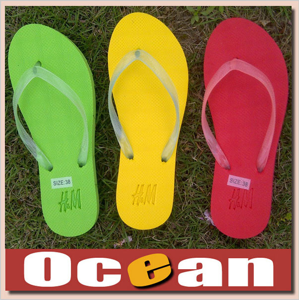 Rubber Sandals Summer Beach Flip Flops Lady Slippers Women Shoes Flat Casual bright Luminescence - Ocean Technology Co.,Ltd store