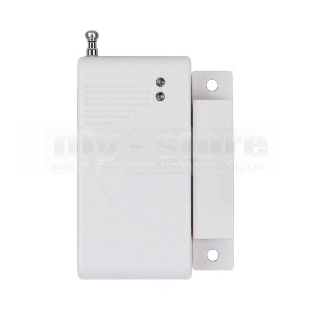 DIY K2 Wireless 433Mhz Door Magnetic Sensor for Our Related Home Alarm Home Security System Gap sensor(China (Mainland))