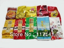 10 Different Flavor Famous Tea Chinese Tea,Ginsen oolong,TieGuangYin,Milk oolong,Dahongpao,free shipping