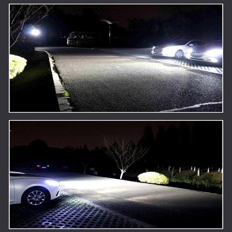Купить Супер Яркие Фары Автомобиля H7 СВЕТОДИОДНЫЕ H8/H11 HB3/9005 HB4/9006 60 Вт 6000lm Авто Передняя лампа Автомобилей Фары 6000 К Освещение Автомобиля