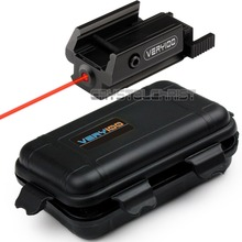 2016 Red Dot Laser sight Tactical picatinny Weaver rail Mount Pistol Gun Hunting