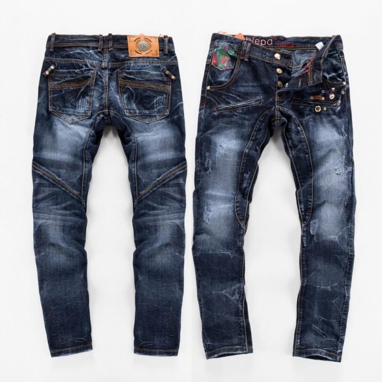 Male fashion jeans straight waist long pants business global network jeans wholesale(China (Mainland))