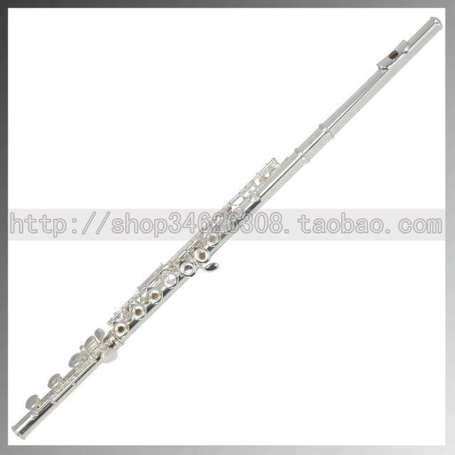 Wholesale 17 e key trepanned dual flute musical instrument