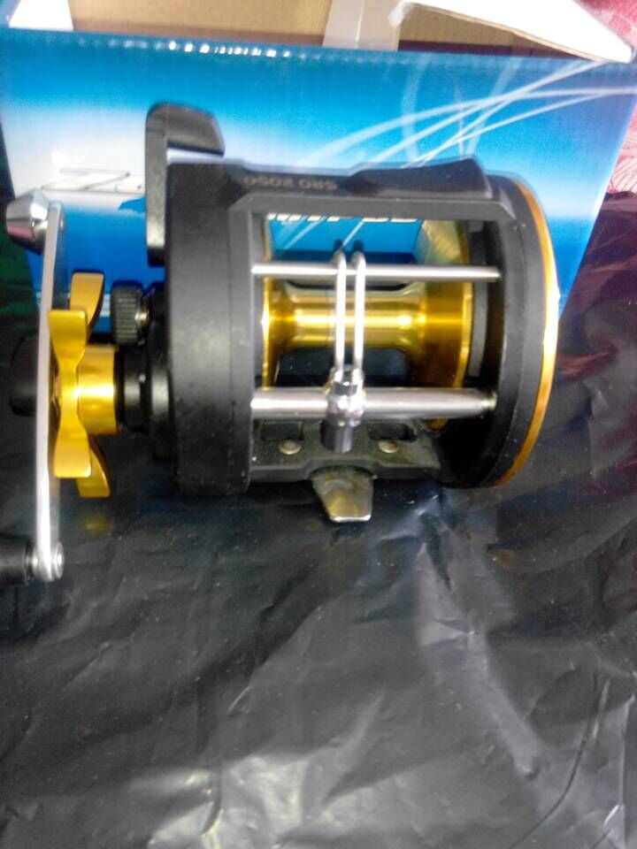 big game off shore fishing alloy reel max 30lb brake boat yatch baitcasting hammer reel(China (Mainland))