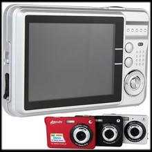 "by DHL or EMS 100 pieces Mini Portable Anti-shake Video Camcorder DC530 Digital Camera HD Digital Camera 16MP 2.7"" TFT 4X Zoom(China (Mainland))"