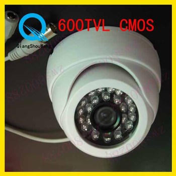 Surveillance 600TVL CMOS 3.6mm lens Color Dome Video CCTV Security Camera W30-6