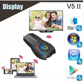 FREE SHIPPING smart tv stick media player with function of DLNA Miracast better than android tv box chromecast mk808 mk908(China (Mainland))