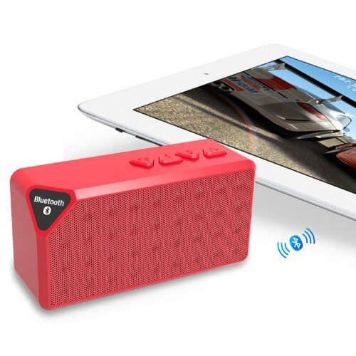 Mini Speaker X3 Bluetooth Speaker Portable Wireless Handsfree TF FM Radio Built in Mic MP3 Subwoofer with Detachable Battery(China (Mainland))