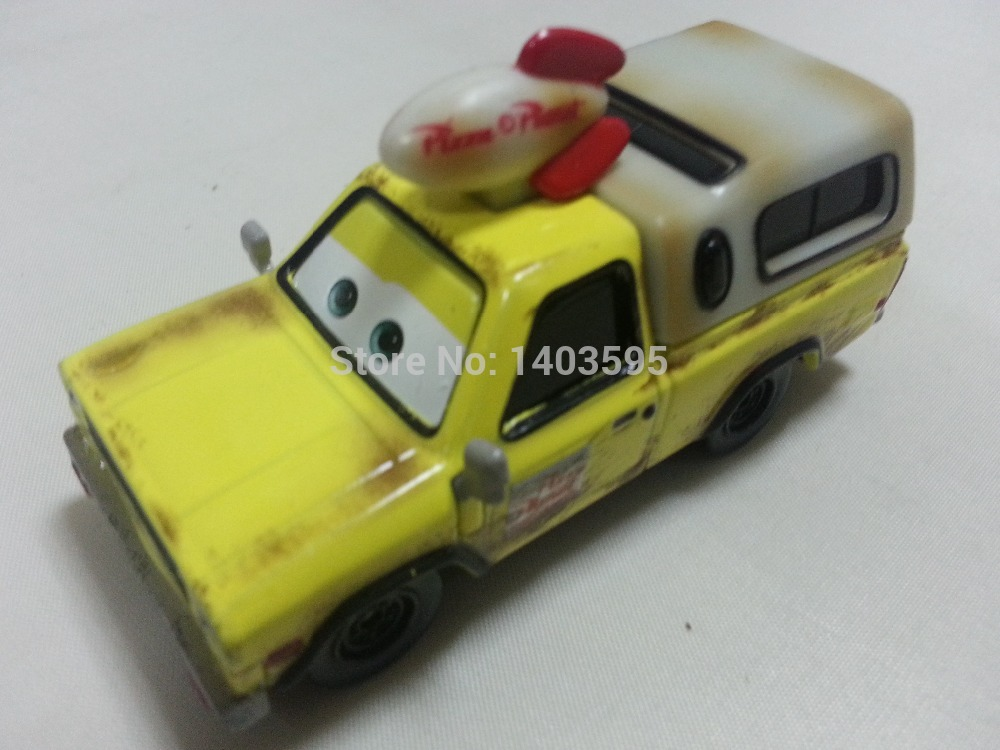 Pixar Cars Todd Pizza Planet Truck Metal Diecast Toy Car 1:55 Loose Brand New In Stock & Free Shipping(China (Mainland))