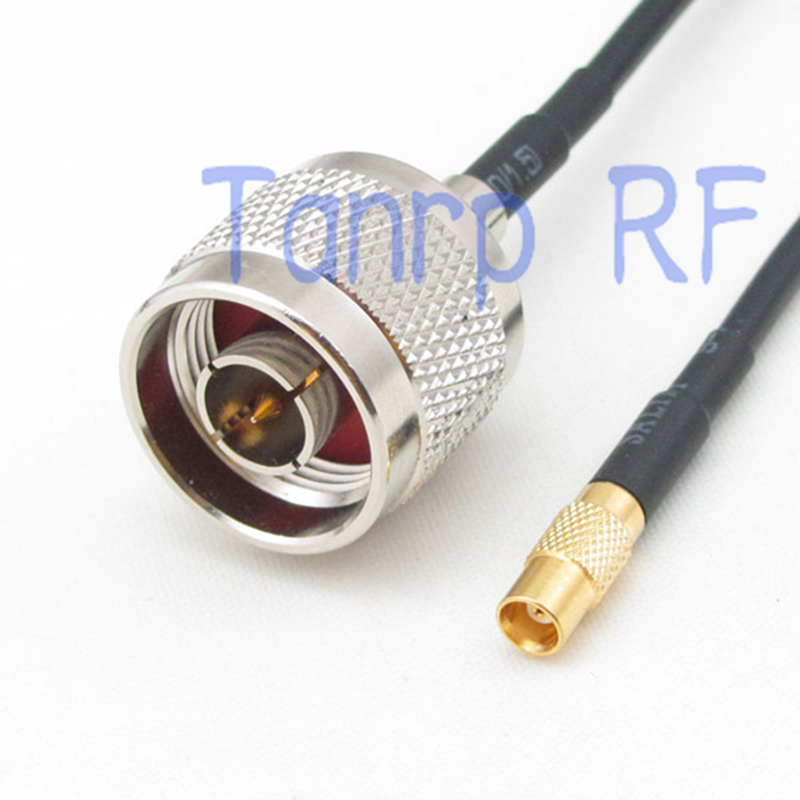10pcs 6in MCX female jack to N male plug RF connector adapter 15CM Pigtail coaxial jumper RG174 extension cord cable<br><br>Aliexpress