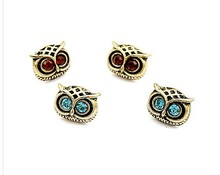 ea230 Fashion Hot Selling 2015 New Style Earings Jewelry Retro Silver Cute Lovely Big Eye Owl