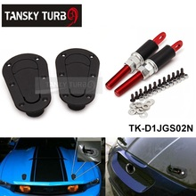 Tansky - Flush locking aero style bonnet hood pins JDM D1 TK-D1JGS02N(China (Mainland))
