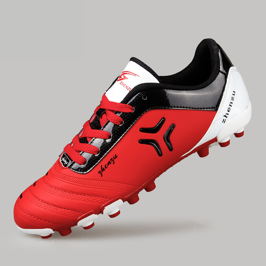 2015 new brand s fashion sport soocer shoes pu leather