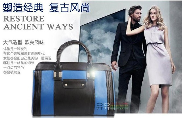 Free Shipping New Brand Fashion Cowhide Genuine Leather Tote Bags Women Casual Designer Handbags