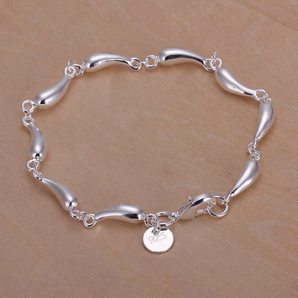 Браслет-цепь 925 pulsera 925 sterling silver bracelet браслет цепь hot 925