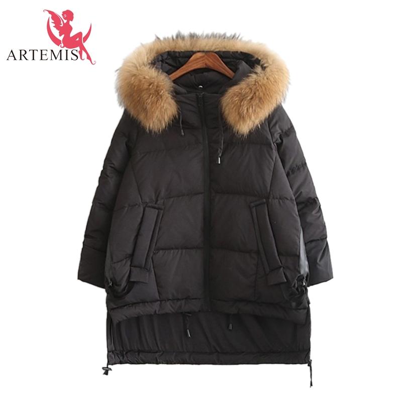 New 2016 Winter Jacket Women Fur Hooded Parkas Double Breasted Duck Down 5 Colored Winter Coat Women Plus Size Outwear Parka