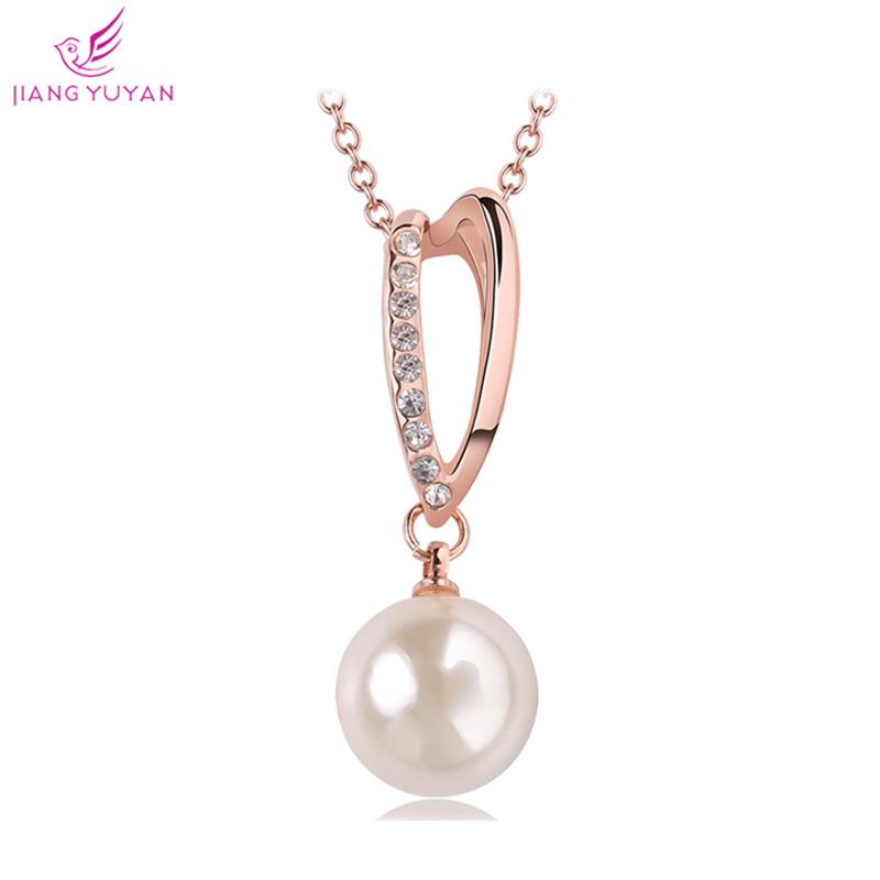 Fashion Pearl Necklace 18K Gold Silver Plated Jewelry Nickel Free Trendy Women Accessories Best Seller Neckless 2015 - TOTO5857 store