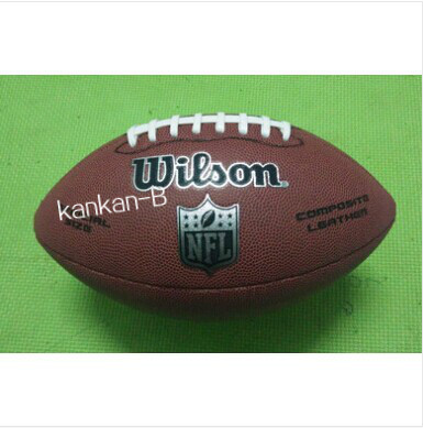 A+++ Quality Wil** American Rugby Ball Official Size 9 Weight American Football Standard Ball for Match and Training 5 Styles(China (Mainland))