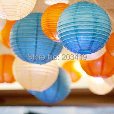 12 inch 30cm Round Chinese Paper Lantern for Birthday Wedding Party Decoration gift craft DIY whcn+(China (Mainland))