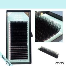 All size,1 case ,  J B C D curl,7~15mm MIX ,20rows/tray, mink eyelash extension,natural eyelashes,individual false eyelash(China (Mainland))