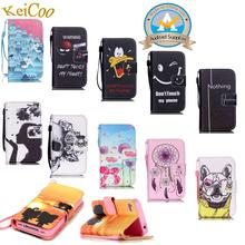 Mobile Phone Printing Covers For SAMSUNG GALAXY S 5 S5 G900F S5Neo SM-G903F Man Women PU Leather Wallet Cases Book Flip Stand(China (Mainland))