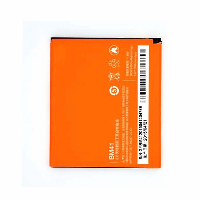 100% TESTED BM41 2050mAh Li-ion Polymer Mobile Phone Battery For Xiaomi 2A M2A Mi2A Replacement Parts