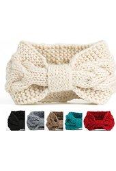 EW cable Crochet Knit Headwrap knotted handmade Headband Ear warmer HAIRBAND KH-443(China (Mainland))