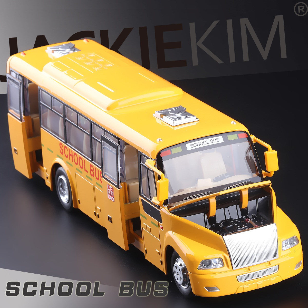 Hot Sale Free shipping High Quality Pull back Alloy Cars Model Open Door Metal School Bus Diecast Models with light and voice(China (Mainland))
