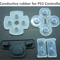Free shipping High quality Replacement conductive rubber for PS3 Controller 20sets/lot