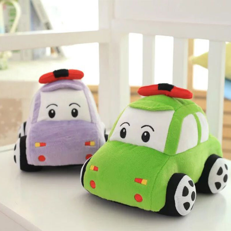 1Pcs Plush Car Shape Doll Toy Vehicle Doll Accessories Gift Baby Sleep Toys Kids Toys(China (Mainland))