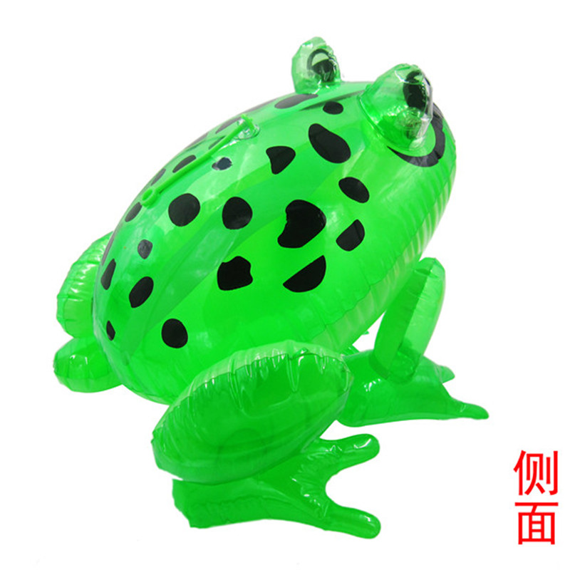 1Pcs Inflatable Frog with Light Line Toys PVC Inflatable Animal Balloons Classic Blow Up Toys Annual Events Game Toys 5ZHH018(China (Mainland))